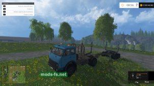 Мод МАЗ-504 лесовоз для Farming Simulator 2015