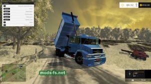 Мод грузовика MERCEDES-BENZ L-1620 BUCKET