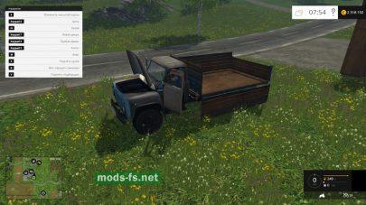 Мод русского грузовика ГАЗ 53