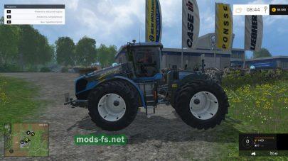 Мод большого трактора NEW HOLLAND