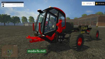 Необычный трактор для фермы