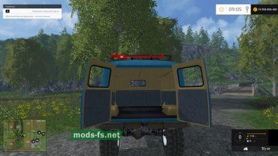 Русский мод УАЗ-452