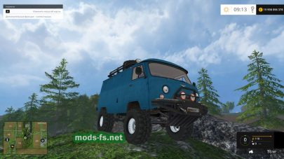 Модификация УАЗ-452 для FS 2015