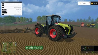Мод CLAAS Xerion 4500 для FS 2015