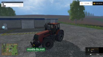 Мод трактора Беларус-2522ДБ