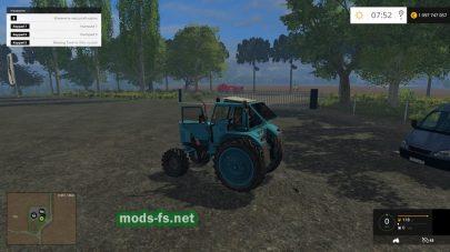 Трактора Беларус для Farming Simulator 2015