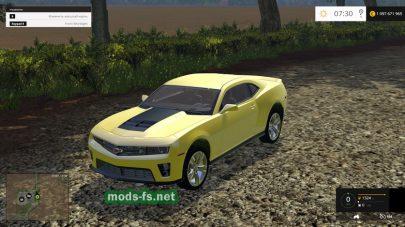 Мод Chevrolet Camaro ZL1