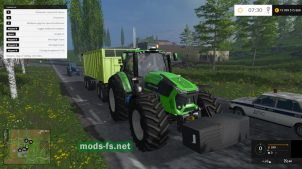 Мод Deutz Fahr TTV Agrotron 9340