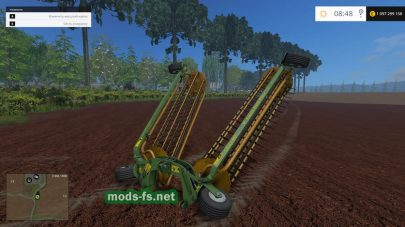 Мод ELHO TWIN FLEX 600 FRONT WINDROWER
