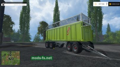 Fliegl 4axle Rear Tipper