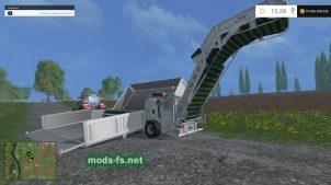 Транспортируемая перегрузочная станция Fliegl Overload Station