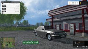 """Автомобиль """"Волга"""" для Farming Simulator 2015"""