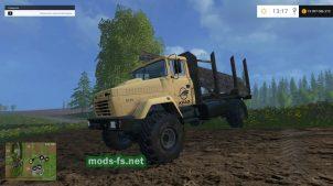 Лесовоз КрАЗ 5131