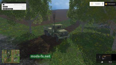 Мод M35A2 Deuce Flatbed