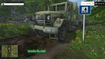 M35A2 Deuce Flatbed для FS 2015