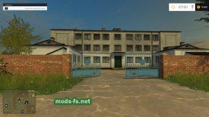 Карта Полевое для Farming Simulator 2015