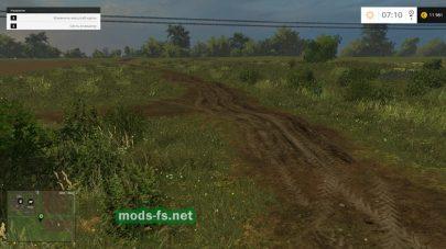 Дороги из грязи на карте Средняя полоса России