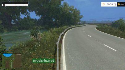 Дорога на карте