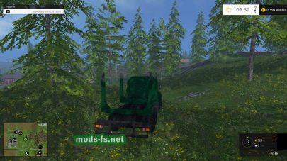 КРАЗ-260 для перевозки бревен в FS 2015