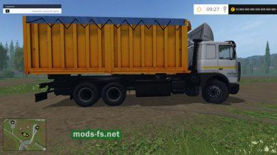 Мод MAZ 5516А8-336 & TRAILER