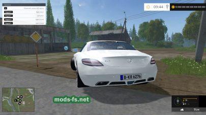Mercedes SLS AMG для FS 2015