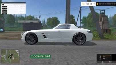 Мод Mercedes SLS