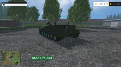 Мод танка Т-34 для FS 2015