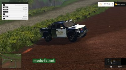 Мод Ford F150 Police