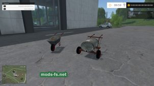 Мод: тачка для Farming Simulator 2015