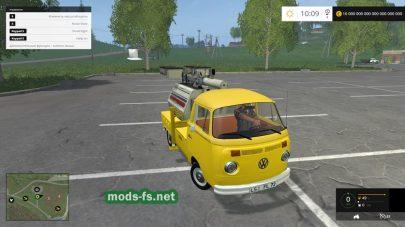 Мод VW TRANSPORTER T2B LICHTMAST
