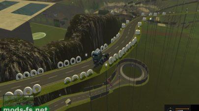 Дорога для гонок в FS