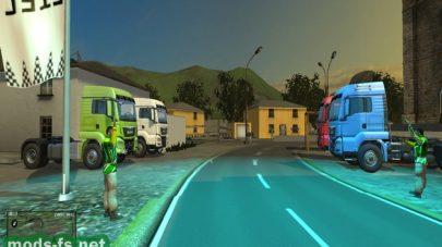 Карта Trucker Football для Farming Simulator 2015