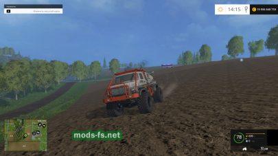 Внедорожник для Farming Simulator 2015