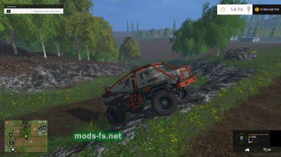 Машина для езды по горам