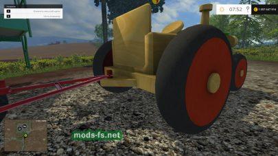 Деревянный трактор для FS 2015