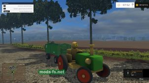 Мод Wood Tractor for Noob Scorpiox