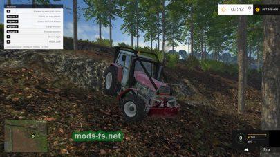Трактор для леса в FS 2015