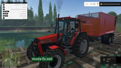 Мод трактора Ursus 934