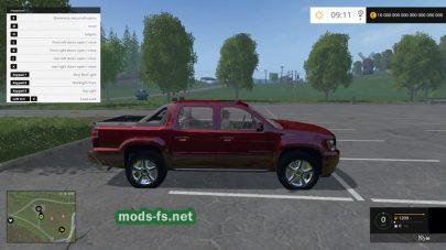 Мод автомобиля Chevrolet Avalanche
