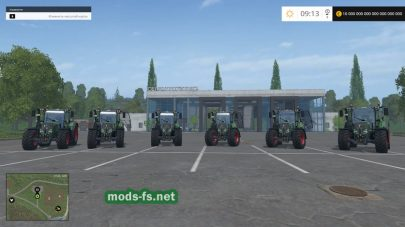 Трактора FENDT для FS 2015