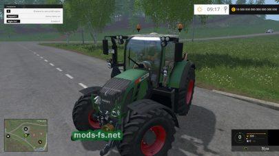 Мощный трактор FENDT