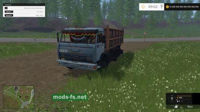 Мод КамАЗ-45143