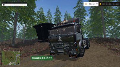 Мод тягача КамАЗ-54115