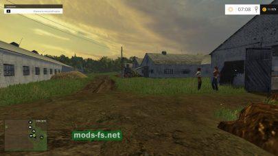 Ферма на русской карте