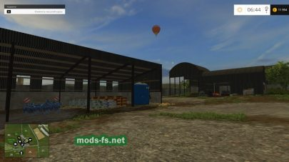Sandy Bay для Farming Simulator 2015