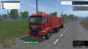Мод MAN TGS 18.440 Benne & Fliegl TMK 266