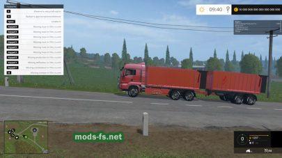 MAN TGS 18.440 для Фермер Симулятор 2015