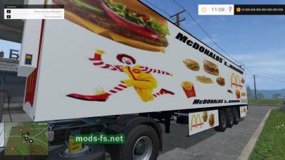 Мод McDonalds Trailer