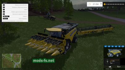 Мод комбайна New Holland CR 10.90