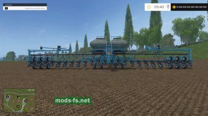 Сеялка для посева кукурузы и свеклы в FS 2015